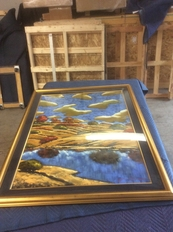 Painting in Glass Shipping